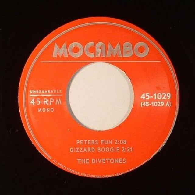 Divetones PETERS FUN Vinyl Record - UK Release
