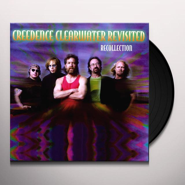 Creedence Clearwater Revisited RECOLLECTION/LIVE Vinyl Record