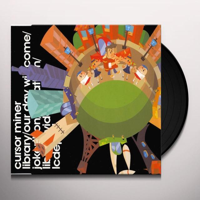 Cursor Miner LIBRARY Vinyl Record - UK Release