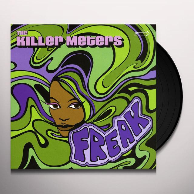 The Killer Meters FREAK/STOMP Vinyl Record - UK Import