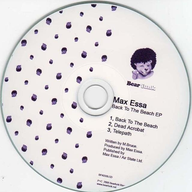 Max Essa BACK TO THE BEACH EP Vinyl Record - UK Release