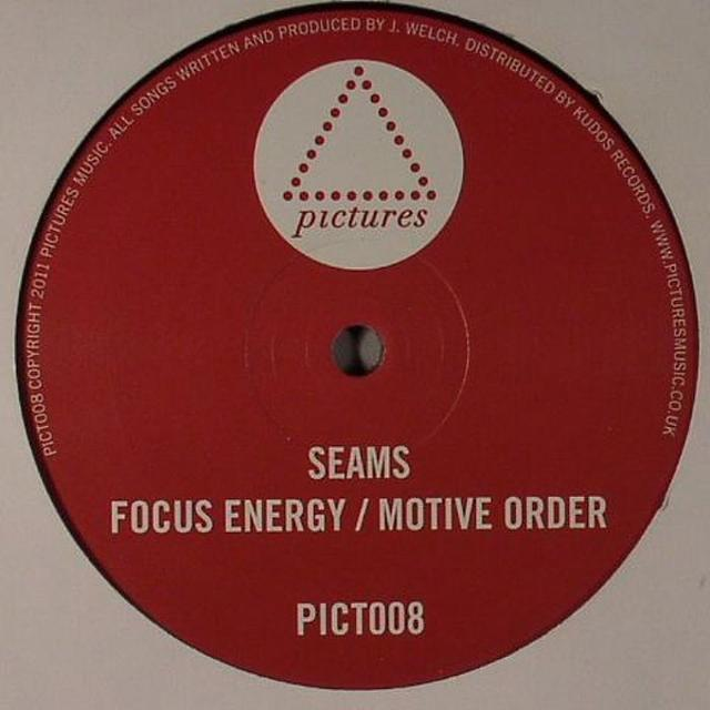 Seams FOCUS ENERGY/MOTIVE ORDER Vinyl Record - UK Release
