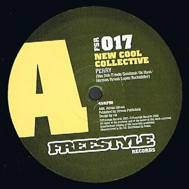 New Cool Collective PERRY Vinyl Record - UK Release