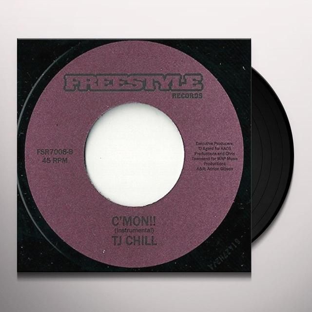 Tj Chill C'MON!! Vinyl Record - UK Release