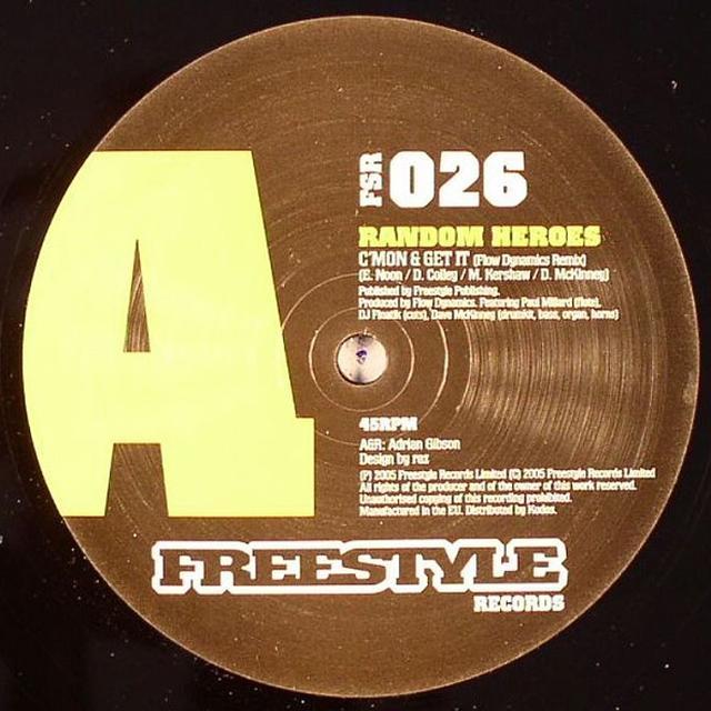 Random Heroes C'MON & GET IT Vinyl Record - UK Release