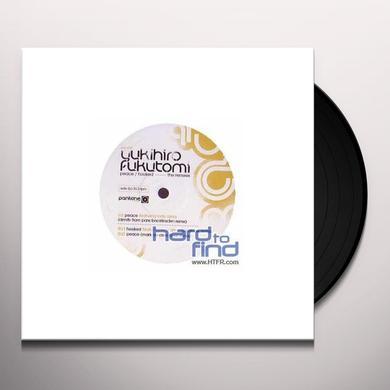 Yukihiro Fukutomi PEACE/HOOKED REMIXES Vinyl Record - UK Import