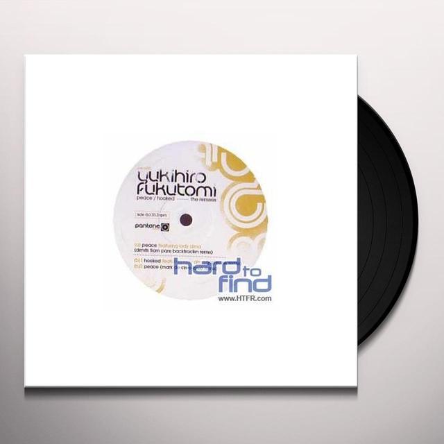 Yukihiro Fukutomi PEACE/HOOKED REMIXES Vinyl Record - UK Release