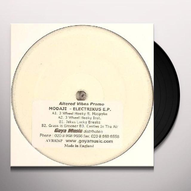 Modaji ELECTRIKUS EP Vinyl Record - UK Import