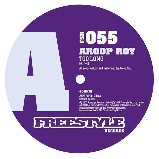 Aroop Roy TOO LONG Vinyl Record - UK Release