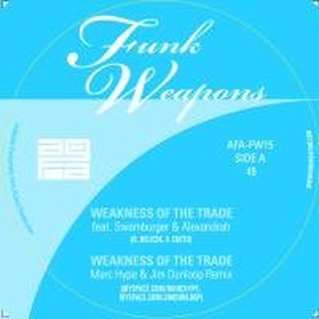 All Good Funk Alliance WEAKNESS OF A TRADE Vinyl Record - UK Import
