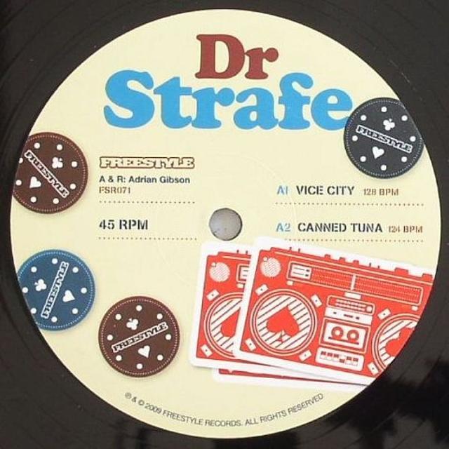 Dr. Strafe VICE CITY Vinyl Record - UK Import