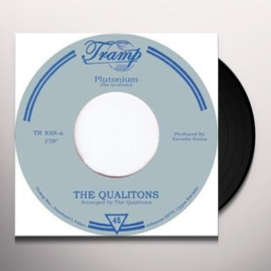 The Qualitons PLUTONIUM/ONE MAN SONG Vinyl Record - UK Import