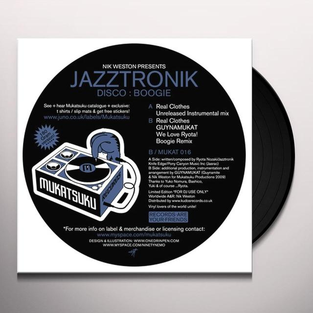 Jazztronik DISCO:BOOGIE Vinyl Record - UK Import
