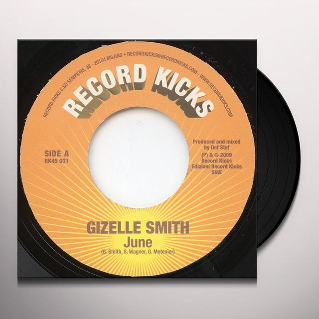 Gizelle Smith JUNE Vinyl Record - UK Import