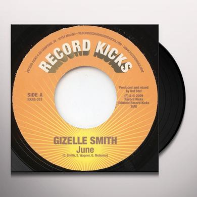 Gizelle Smith JUNE Vinyl Record