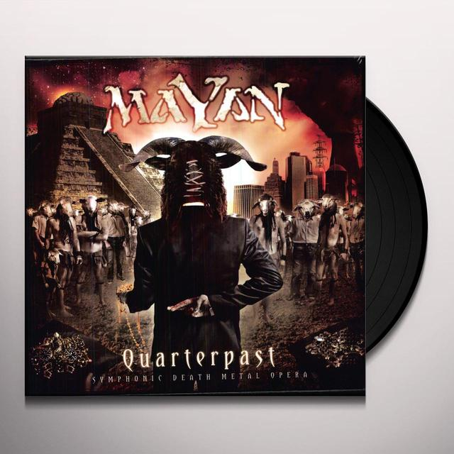 Mayan QUARTERPAST Vinyl Record - Holland Release