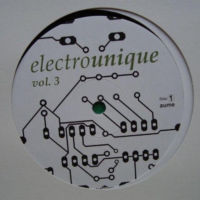 Electrounique 3 / Various (Uk) ELECTROUNIQUE 3 / VARIOUS Vinyl Record - UK Import