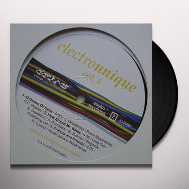Electrounique 5 / Various (Uk) ELECTROUNIQUE 5 / VARIOUS Vinyl Record - UK Release