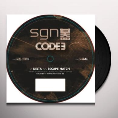 Code 3 DELTA/ESCAPE HATCH Vinyl Record - UK Release