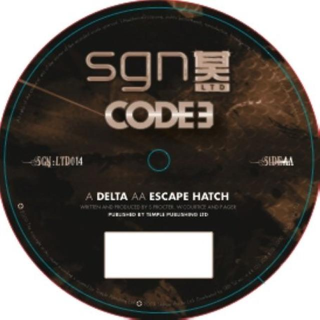 Code 3 DELTA/ESCAPE HATCH Vinyl Record - UK Release