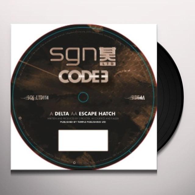 Code 3 DELTA/ESCAPE HATCH Vinyl Record - UK Import