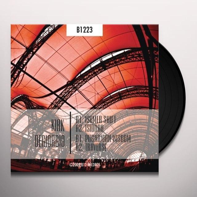 Kirk Degiorgio ISOMER SHIFT EP Vinyl Record