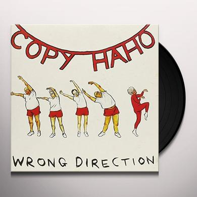 Copy Haho WRONG DIRECTION Vinyl Record - UK Import