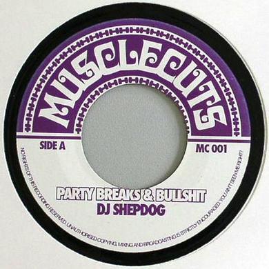 Dj Shepdog PARTY BREAKS & BULLSHIT Vinyl Record - UK Release