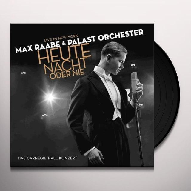 Max Raabe & Palast Orchester HEUTE NACHT ODER NIE Vinyl Record