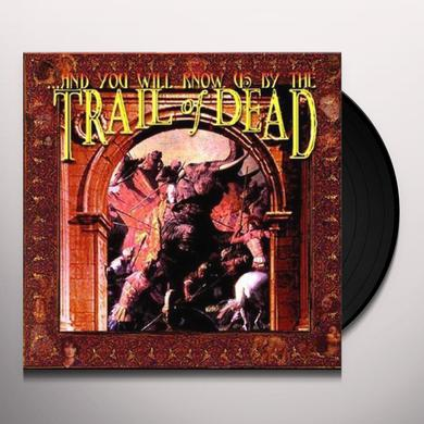 AND YOU WILL KNOW US BY THE TRAIL OF DEAD Vinyl Record - UK Release
