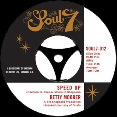Betty Moorer SPEED UP/IT'S MY THING Vinyl Record - UK Release