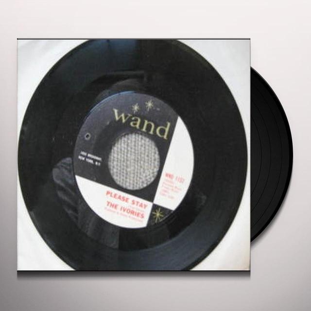 Ivories PLEASE STAY Vinyl Record - UK Import
