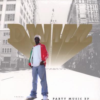 Dwizz PARTY MUSIC EP Vinyl Record - UK Release