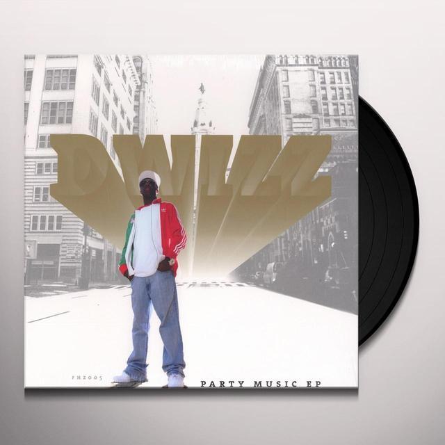 Dwizz PARTY MUSIC EP Vinyl Record - UK Import