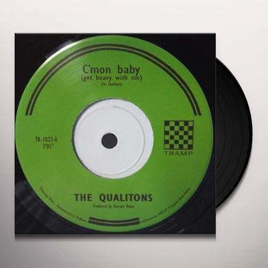 The Qualitons C'MON BABY/MARGIT Vinyl Record