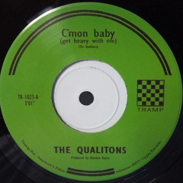 The Qualitons C'MON BABY/MARGIT Vinyl Record - UK Import