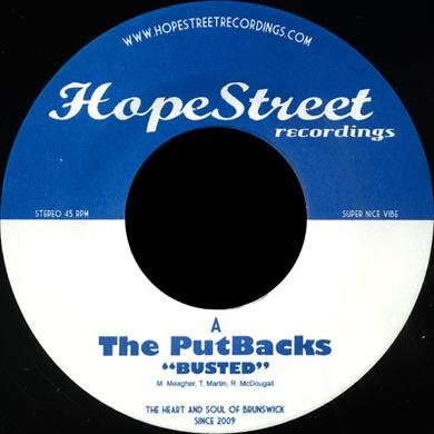 Putbacks BUSTED/SET ME FREE Vinyl Record - UK Release