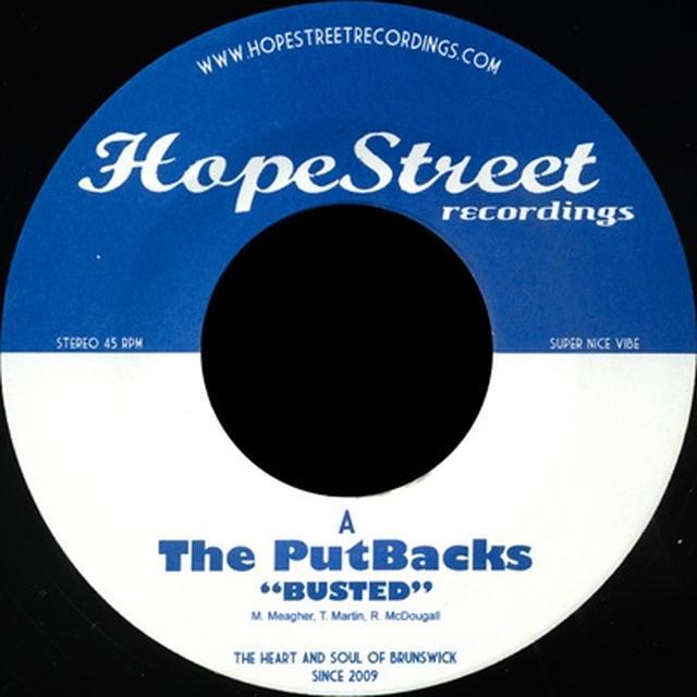 Putbacks BUSTED/SET ME FREE Vinyl Record - UK Release