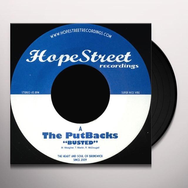 Putbacks BUSTED/SET ME FREE Vinyl Record - UK Import