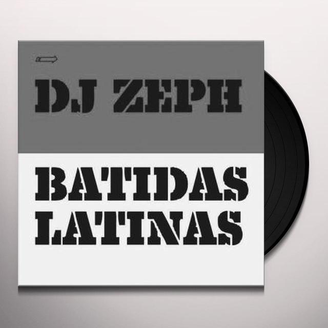 Dj Zeph BATIDAS LATINAS EP 2 Vinyl Record - UK Release