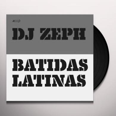 Dj Zeph BATIDAS LATINAS EP 2 Vinyl Record - UK Import