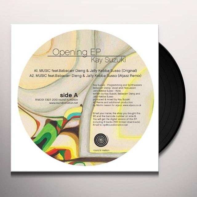 Kay Suzuki OPENING EP Vinyl Record - UK Import