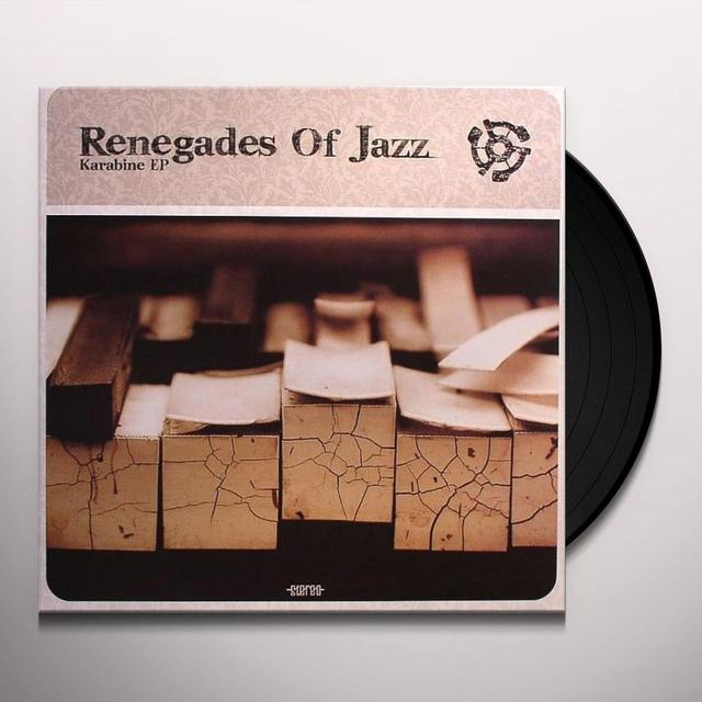 Renegades Of Jazz KARABINE EP Vinyl Record - UK Release