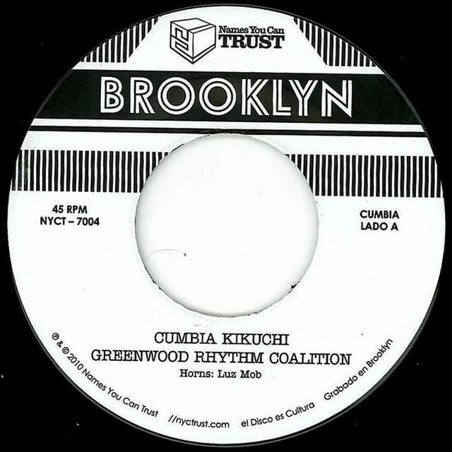 Greenwood Rhythm Coalition CUMBIA KIKUCHI Vinyl Record - UK Release