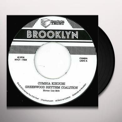 Greenwood Rhythm Coalition CUMBIA KIKUCHI Vinyl Record - UK Import