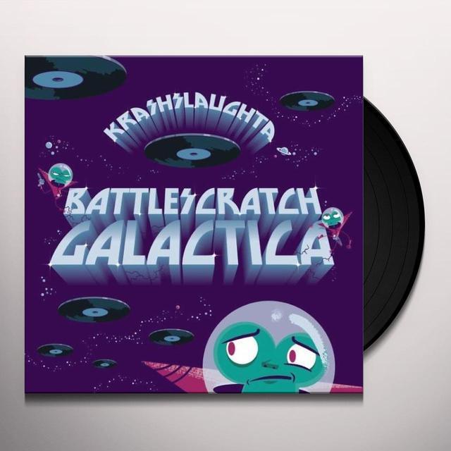 Krash Slaughta BATTLESCRATCH GALACTICA Vinyl Record - UK Release