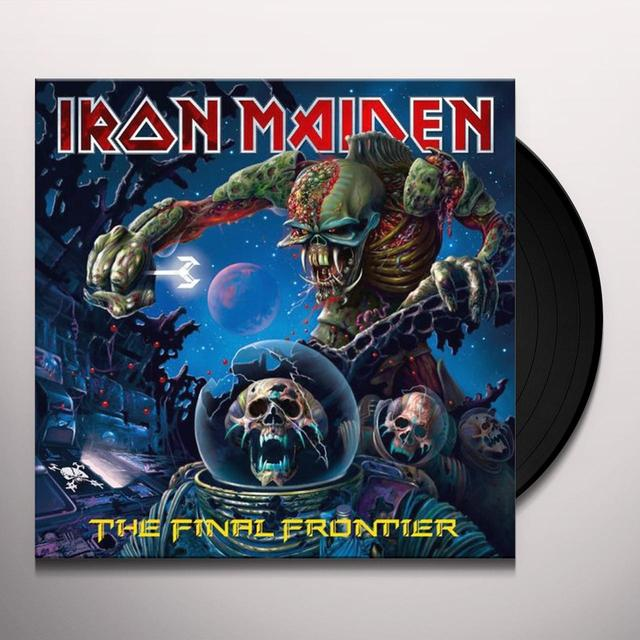 Iron Maiden FINAL FRONTIER [PICTURE DISC VINYL] (HK) Vinyl Record