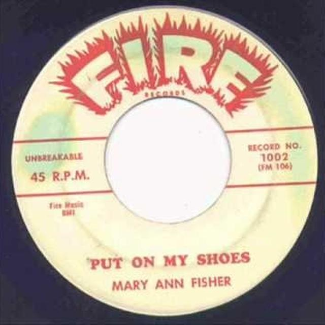 Mary Ann Fisher PUT ON MY SHOES Vinyl Record - UK Release