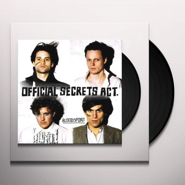 Official Secrets Act BLOODSPORT Vinyl Record