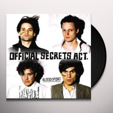 Official Secrets Act BLOODSPORT Vinyl Record - UK Import